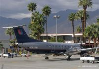A SkyWest E-120 parked at Palm Springs airport.  Photo:  Chuck Slusarczyk Jr. - OPShots.net