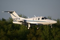 An Eclipse 500 lands at Akron-Canton airport in 2010.  Photo: Gary Starcher - OPShots.net