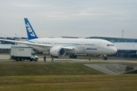 A different Dreamliner visited Houston in February.  Photo: Craig Maternowski - OPShots.net