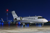 A challenger 604 at Akron Canton airport.  Photo: Gary Starcher - OPShots Contributor