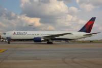 Showing off its new nose-art at ATL in September.  Photo: Andrew Thon - OPShots Contributor