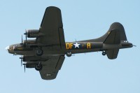 Not the real Memphis Belle, but it does play homage to the legendary bomber.  Photo:  Dave Reed - OPShots Contributor