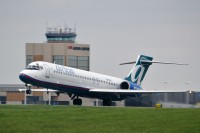 An AirTran 717 departing Akron-Canton in 2010.  Photo:  Gary Starcher - OPShots Contributor