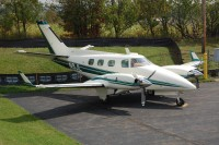 A Beechcraft Duke similar to this one is at the center of a smuggling operation.  Photo:  Andrew Jones - OPShots Contributor