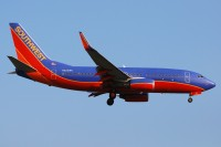 A Southwest 737 lands at Cleveland in September 2011.   Photo: Dave Reed - OPShots Contributor