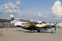 A Pacificwings Cessna Grand Caravan sits at Atlanta in 2009.  Photo:  Andrew Thon - OPShots Contributor