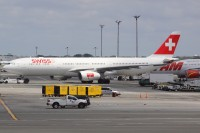 A Swiss International Airbus A330 at JFK in 2010.  - Photo:  Andrew Thon - OPShots Contributor.//