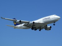 A Lufthansa 747 arrives at Chicago O'Hare in this photo from July 2012.  Photo:  Steven Barnes - OPShots Contributor  //