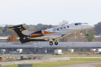 A Phenom 300 takes to the skies from Columbus, Ohio.  Photo: Stephen Mosley Sr. - OPShots Contributor  //