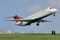 A Delta Airlines DC-9