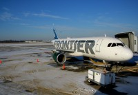 Frontier A320 at KCLE