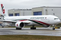 Biman Bangladesh B777-3E9(ER) S2-AHM taxis a few days prior to delivery as part of Biman Bangladesh's fleet modernization.  Photo: Andre Nordheim – OPShots Contributor