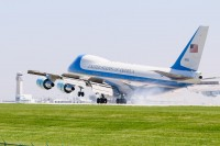 Air Force One touches down at CLE in 2012. - Photo: USNAirpower – OPShots Contributor//