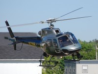 An Ohio State Highway Patrol Eurocopter AS350B2 taking off from Medina Municipal Airport (IG5) in 2013. – Photo: Andrew Jones – OPShots Contributor//